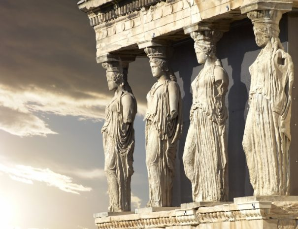caryatids-erechtheum-temple-on-acropolis-of-athens