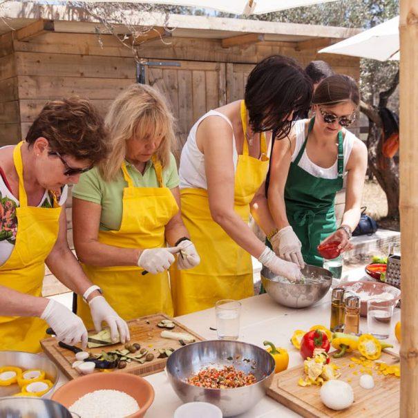 Cooking Workshops at margi farm