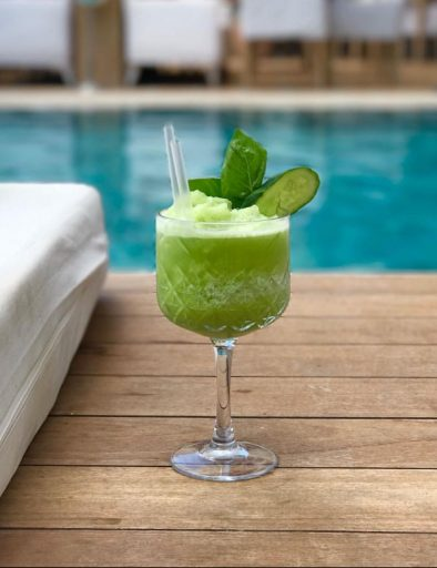 cucumber with mint